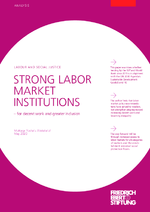 Strong labor market institutions